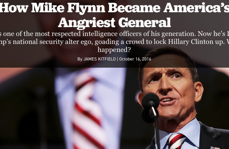 General Mike Flynn Columbus