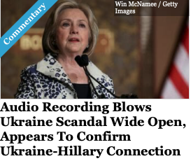 Audio Recording Blows Ukraine Scandal Wide Open In Columbus, Appears To Confirm Ukraine-Hillary Connection