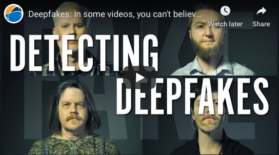Columbus: Deepfakes: In some videos, you can't believe your eyes